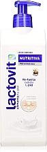 Düfte, Parfümerie und Kosmetik Pflegende Körpermilch mit Sheabutter für normale und trockene Haut - Lactovit Nourishing Body Milk
