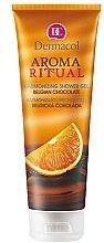 Düfte, Parfümerie und Kosmetik Duschgel mit belgischem Schokoladenduft - Dermacol Aroma Ritual Harmonizing Shower Gel