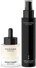 Düfte, Parfümerie und Kosmetik Gesichtspflegeset - Madara Cosmetics Infinity Care System (Feuchtigkeitsspendender probiotischer Toner für das Gesicht 100ml + Gesichtsserum 30ml)