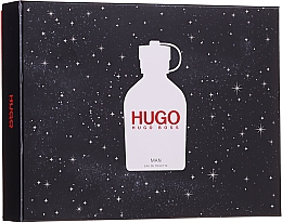 Düfte, Parfümerie und Kosmetik Hugo Boss Hugo Man - Duftset (Eau de Toilette 125ml + Deospray 150ml + Duschgel 50ml)