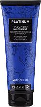 Düfte, Parfümerie und Kosmetik Anti-Orangestich Haarmaske mit Bio Mandelextrakt - Black Professional Line Platinum No Orange Mask With Organic Almond Extract