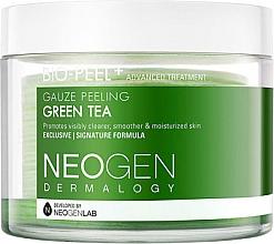 Düfte, Parfümerie und Kosmetik Glättende und feuchtigkeitsspendende Peeling-Gesichtspads mit Grüntee-Extrakt - Neogen Dermalogy Bio Peel Gauze Peeling Green Tea