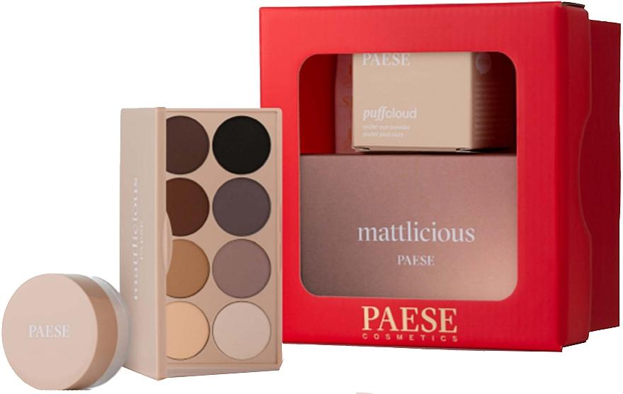 Make-up Set - Paese Selflove Set 3 (Matte Lidschatten-Palette 12g + Augenpuder 5.3g)