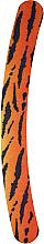 Düfte, Parfümerie und Kosmetik Nagelfeile Banane 180/180 mit Tiger-Print - Donegal