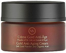 Düfte, Parfümerie und Kosmetik Anti-Aging Gesichtscreme mit 24K Goldpuder - Innossence Innor Gold Anti-Aging Cream