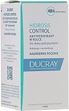 Düfte, Parfümerie und Kosmetik Deo Roll-on Antitranspirant - Ducray Hidrosis Control Roll-On Anti-Transpirant