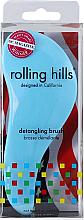 Düfte, Parfümerie und Kosmetik Entwirrbürste blau - Rolling Hills Detangling Brush Travel Size Sky Blue