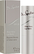 Düfte, Parfümerie und Kosmetik Lippenbalsam mit Aloe Vera - Dr. Spiller Aloe Vera Lip Balm