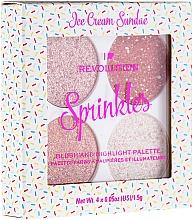 Düfte, Parfümerie und Kosmetik Highlighter- und Rougepalette - I Heart Revolution Sprinkles