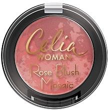 Düfte, Parfümerie und Kosmetik Rouge - Celia Woman Rose Blush Mosaic