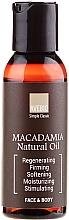 Düfte, Parfümerie und Kosmetik Ätherisches Öl Macadamia - Avebio OiL Macadamia