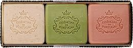 Düfte, Parfümerie und Kosmetik Naturseifen Geschenkset 3 St. - Essencias De Portugal Aromas Collection Winter Set (Seifen 3x80g)