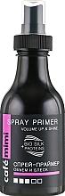 Düfte, Parfümerie und Kosmetik Haarspray-Primer für mehr Volumen und Glanz - Cafe Mimi Spray Primer Volume Up & Shine