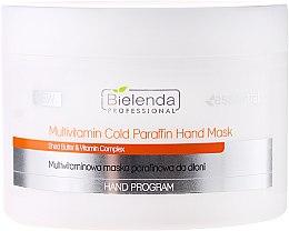 Düfte, Parfümerie und Kosmetik Kühlende Handmaske mit Vitaminen und Paraffin - Bielenda Professional Multivitamin Cold Paraffin Hand Mask