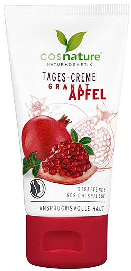 Straffende Tagescreme mit Granatapfel für anspruchsvolle Haut - Cosnature Day Cream Pomegranate