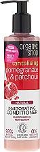 Düfte, Parfümerie und Kosmetik Revitalisierende Haarspülung mit Granatapfel und Patschuli - Organic Shop Invigorating Conditioner