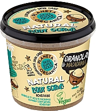 Düfte, Parfümerie und Kosmetik Pflegendes Körperpeeling mit Müsli und Macadamia - Planeta Organica Granola & Macadamia Body Scrub