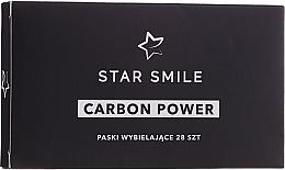 Düfte, Parfümerie und Kosmetik Zahnaufhellungsstreifen 28 St. - Star Smile Carbon Power Whitening Strips