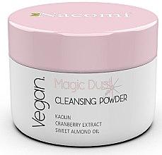 Düfte, Parfümerie und Kosmetik Aufhellendes Gesichtsreinigungspuder mit Moosbeeren, Kaolin und süßem Mandelöl - Nacomi Face Cleansing & Brightening Powder Magic Dust