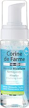 Düfte, Parfümerie und Kosmetik Mizellen Reinigungsschaum mit Kornblumenblüten Extrakt für empfindliche Haut - Corine de Farme Micelar Cleansing Foam