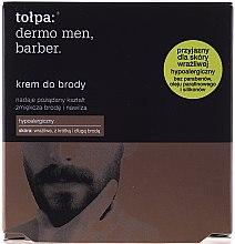 Düfte, Parfümerie und Kosmetik Hypoallergene Bartcreme - Tolpa Dermo Men Barber Cream