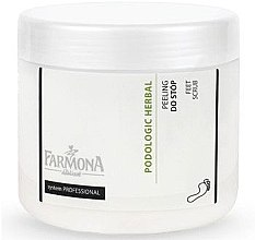 Düfte, Parfümerie und Kosmetik Fußpeeling mit ätherischem Eukalyptus- und Kiefernöl - Farmona Podologic Herbal