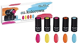 Düfte, Parfümerie und Kosmetik Nagelset - NeoNail Professional Kolorowa Set (Nagellack 5x 3ml)