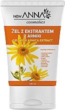 Düfte, Parfümerie und Kosmetik Gesichtsgel mit Arnika-Extrakt - New Anna Cosmetics Gel With Arnica Extract
