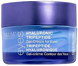 Düfte, Parfümerie und Kosmetik Anti-Aging Augengel mit Hyaluronsäure und Tripeptiden - StriVectin Advanced Hydration Hyaluronic Tripeptide Gel-Cream For Eyes