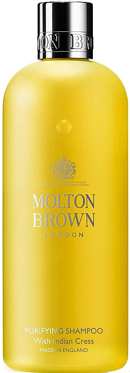 Shampoo mit Brunnenkressextrakt - Molton Brown Purifying Shampoo With Indian Cress