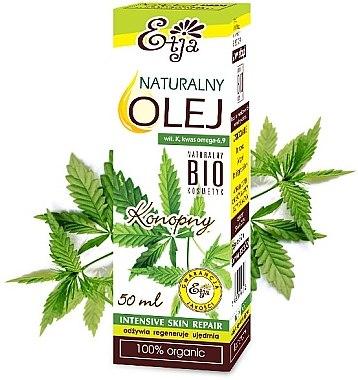 100% natürliches Hanfsamenöl - Etja Natural Oil