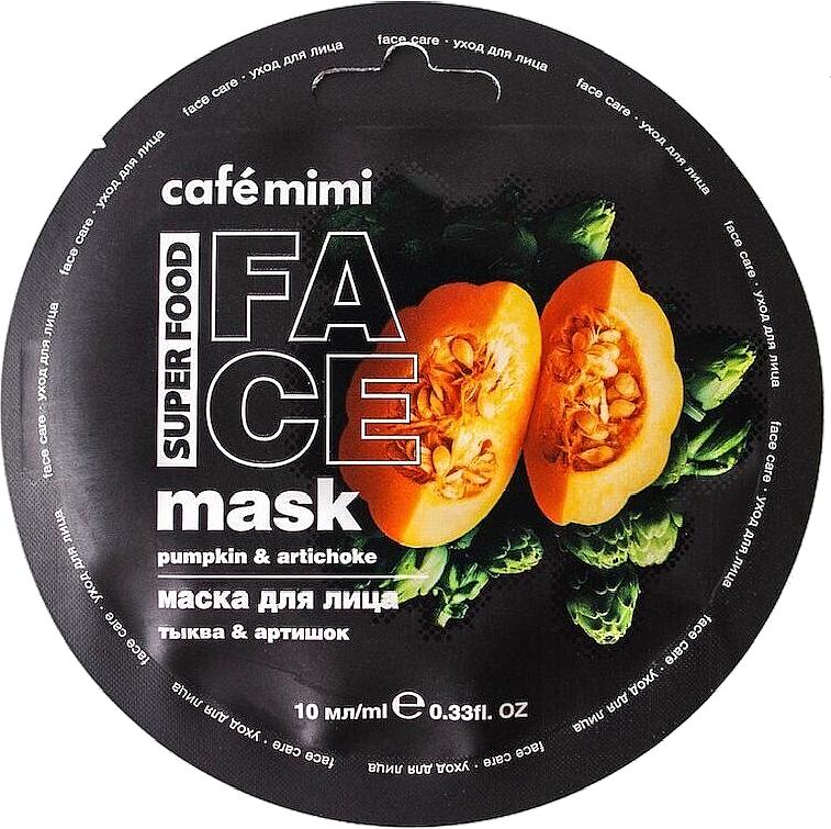 Gesichtsmaske mit Kürbis und Artischocke - Cafe Mimi Face Mask — Bild N1