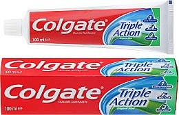 Düfte, Parfümerie und Kosmetik Zahnpasta - Colgate Triple Action Original Mint