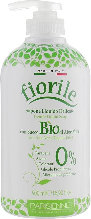 Flüssigseife mit Aloe Vera-Saft - Parisienne Italia Fiorile BIO Aloe Vera Liquid Soap — Bild N1
