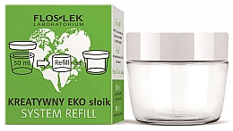 Düfte, Parfümerie und Kosmetik Öko-Cremeglas - Floslek Creative Eco Jar System Refill