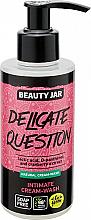 Düfte, Parfümerie und Kosmetik Intimwaschgel mit Milchsäure und Moosbeeren - Beauty Jar Delicate Question Intimate Cream-Wash