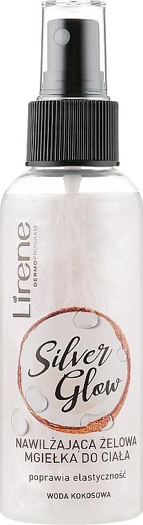 Feuchtigkeitsspendender Körpernebel mit Kokoswasser - Lirene Dermo Program Silver Glow