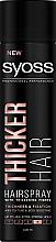 Düfte, Parfümerie und Kosmetik Haarspray für mehr Dicke Extra starker Halt - Syoss Thicker Hair