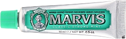 Düfte, Parfümerie und Kosmetik Zahnpasta mit Minzgeschmack - Marvis Classic Strong Mint (Mini)