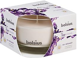 Düfte, Parfümerie und Kosmetik Duftglas Lavendel & Kamille - Bolsius True Moods Collection So Relaxed Candle 63 mm x Ø90 mm