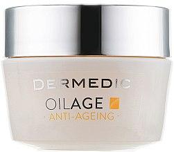 Düfte, Parfümerie und Kosmetik Anti-Aging Gesichtscreme - Dermedic Oilage Repairing Night Cream