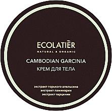 Düfte, Parfümerie und Kosmetik Anti-Cellulite-Körpercreme mit Garciniaextrakt - Ecolatier Cambodian Garcinia Body Cream