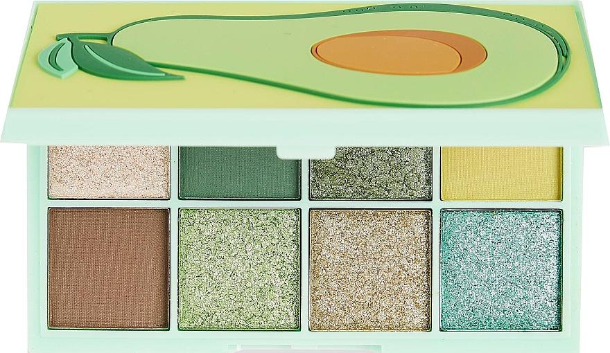 Lidschattenpalette - I Heart Revolution Mini Tasty Avocado Eyeshadow Palette