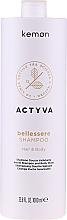 Düfte, Parfümerie und Kosmetik 2in1 Duschgel und Shampoo mit Argan- und Leinöl - Kemon Actyva Bellessere Shampoo