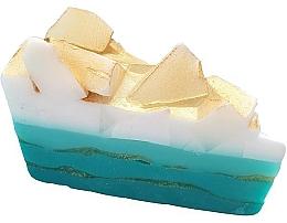 Düfte, Parfümerie und Kosmetik Handgemachte Naturseife mit ätherischem Orangen- und Ylang-Ylang-Öl - Bomb Cosmetics Golden Surf Soap Cake