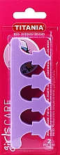 Düfte, Parfümerie und Kosmetik Pediküre Trenner violett - Titania