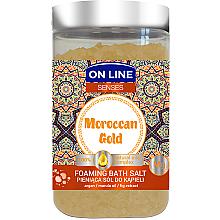Düfte, Parfümerie und Kosmetik Badesalze - On Line Senses Bath Salt Moroccan Gold
