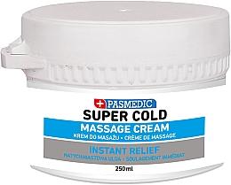 Düfte, Parfümerie und Kosmetik Intensiv kühlende Massagecreme für den Körper - Pasmedic Super Cold Massage Cream