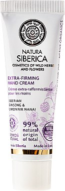 Handcreme - Natura Siberica Extra-Firming Hand Cream