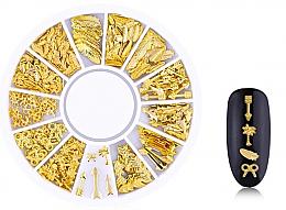 Düfte, Parfümerie und Kosmetik Nageldekoration Gold-6 - Deni Carte